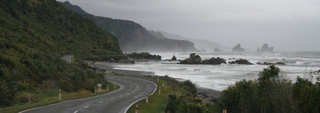 Hokitika car rental background