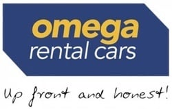 Omega Rental Cars NZ logo