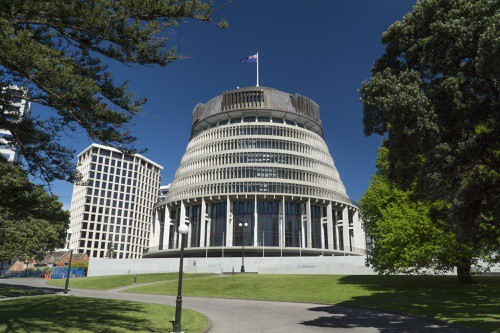 Beehive Building, NZ Parliament