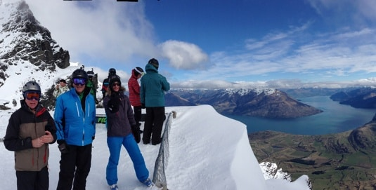 View from the Remarkables Skifield, Queenstown